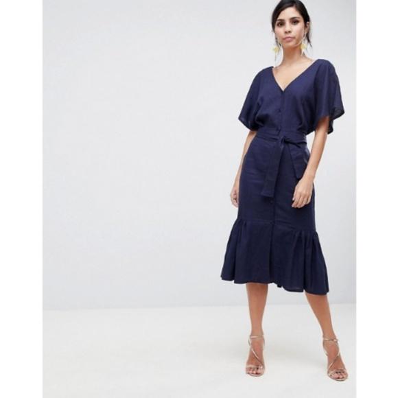 ASOS Dresses & Skirts - ASOS button through dress